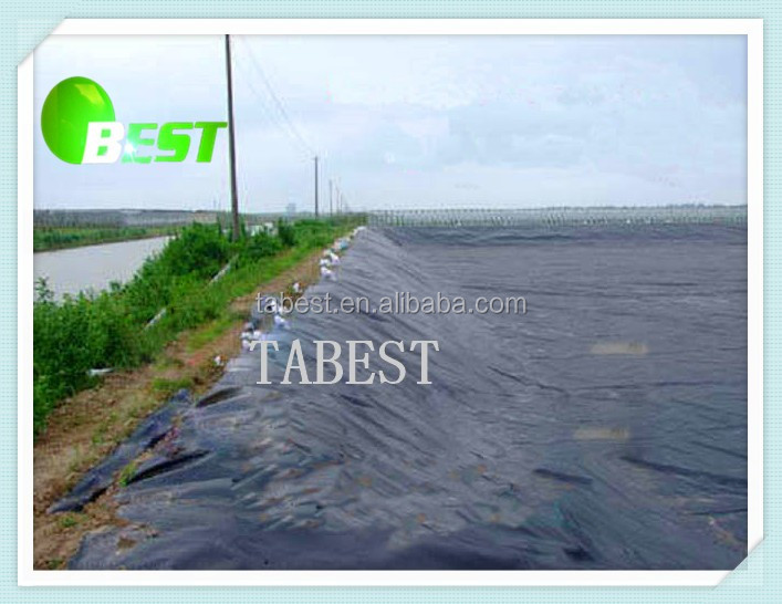 Easy installation waterproof geomembrane dam liner