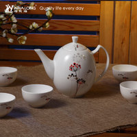 Metal Additive Free Bone China Teapot Can be Antique Personalized for sale