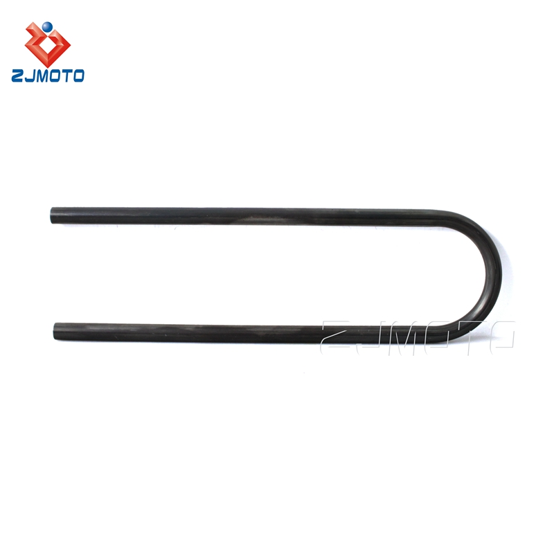 "100% New High Quality 22.2mm 7/8"" Steel Rear Seat Hoop Loop Bracket For Motorcycle With Flat Frame Most CC Of"