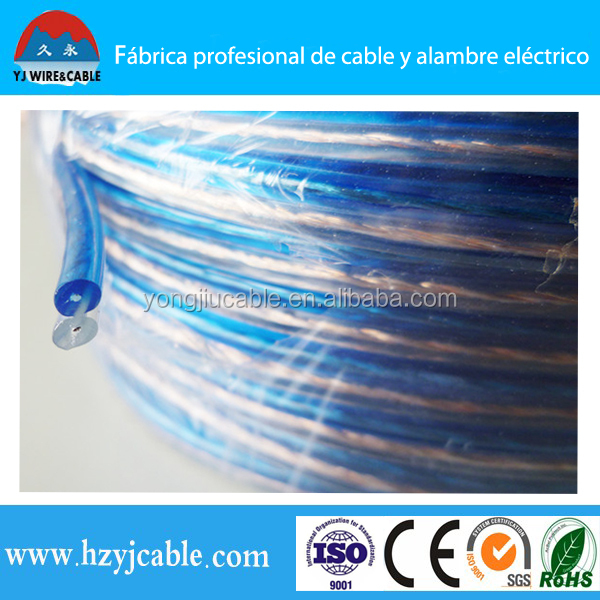 Tinned copper conductor PE insulated speaker wire connector