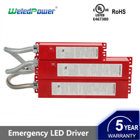 25W 140-185Vdc UL listed emergency battery backup pack led driver power supply
