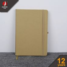 customized pu leather ELASTIC NOTEBOOK office diary