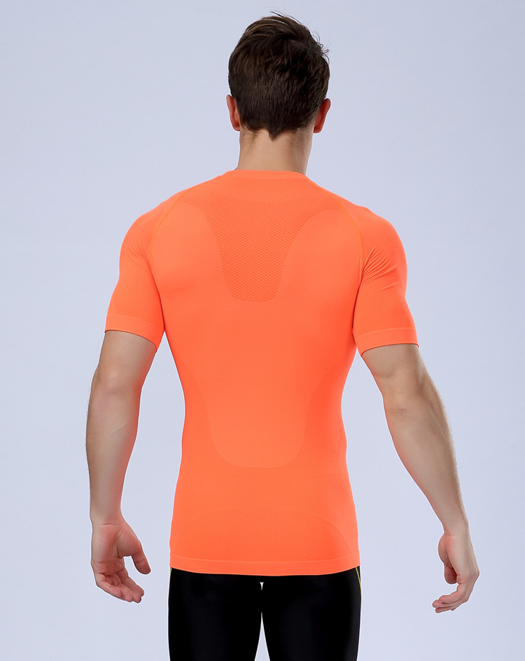 High quality cheap custom short sleeve gym shirt for men