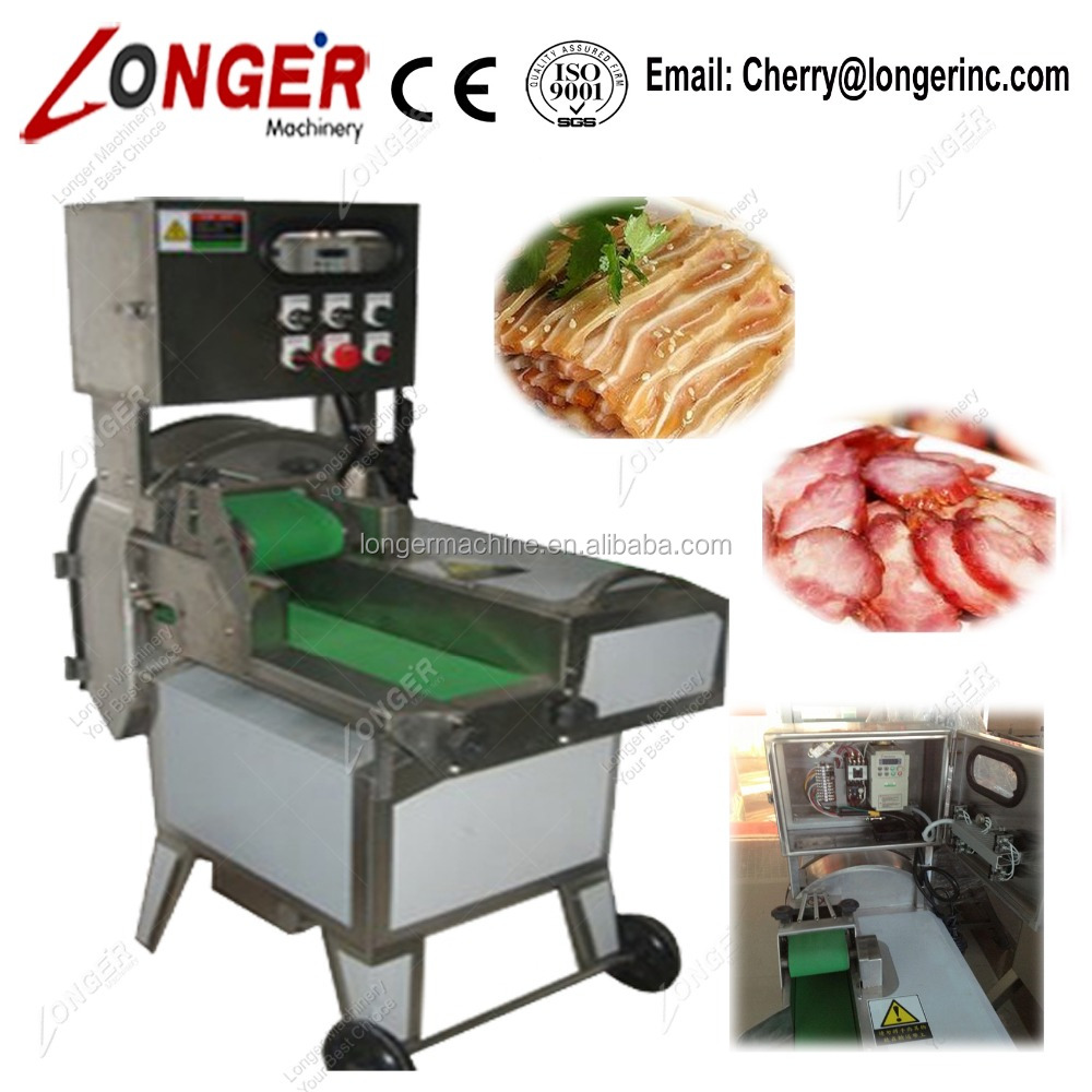 Good Performance Cooked Beef Cutter Machine Pig Ears Slicing Machine