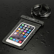 High quality cheap custom clear smartphone transparent mobile cell phone waterproof PVC bag for swimming