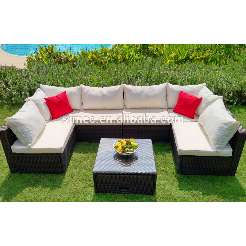 hot sell new modern rattan outdoor furniture