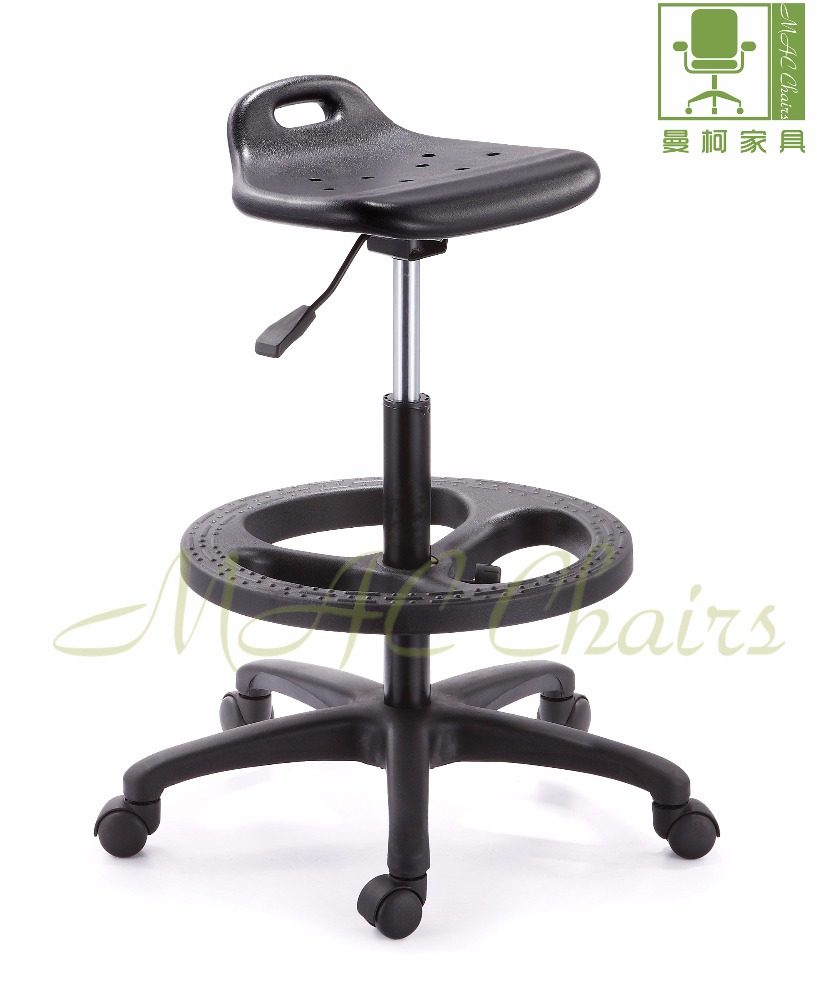 hot sale ESD PU laboratory chair/ fire retardant lab stool with wheels