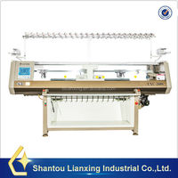Automatic knitting loom machine