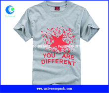 china factory cheap 100% cotton men t-shirt with printing