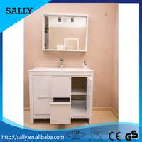 Family and hotels use bathroom cabinet vanity designs made in china