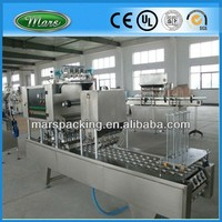 Plastic Cup Filling Roll Film Sealing Machine