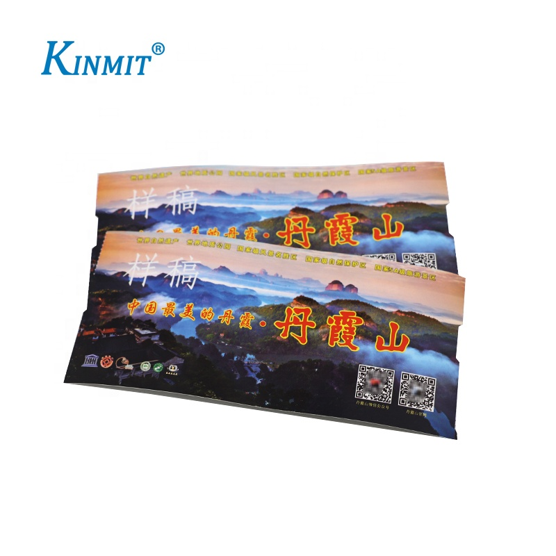 Custom Scenic Spot /Metting /Match Entrance Tickets With Serial Number Printing