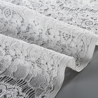 recommended product multi-colours 3d flower romantic style home textile big cotton voile lace 2017 swiss