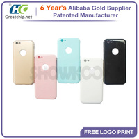 New material aluminum bumper ultra thin hard pc colorful case for iphone 6