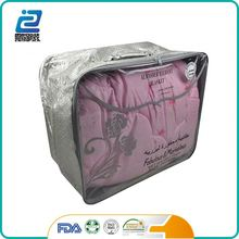 New Condition plastic clear vinyl pvc zipper packing blanket bags