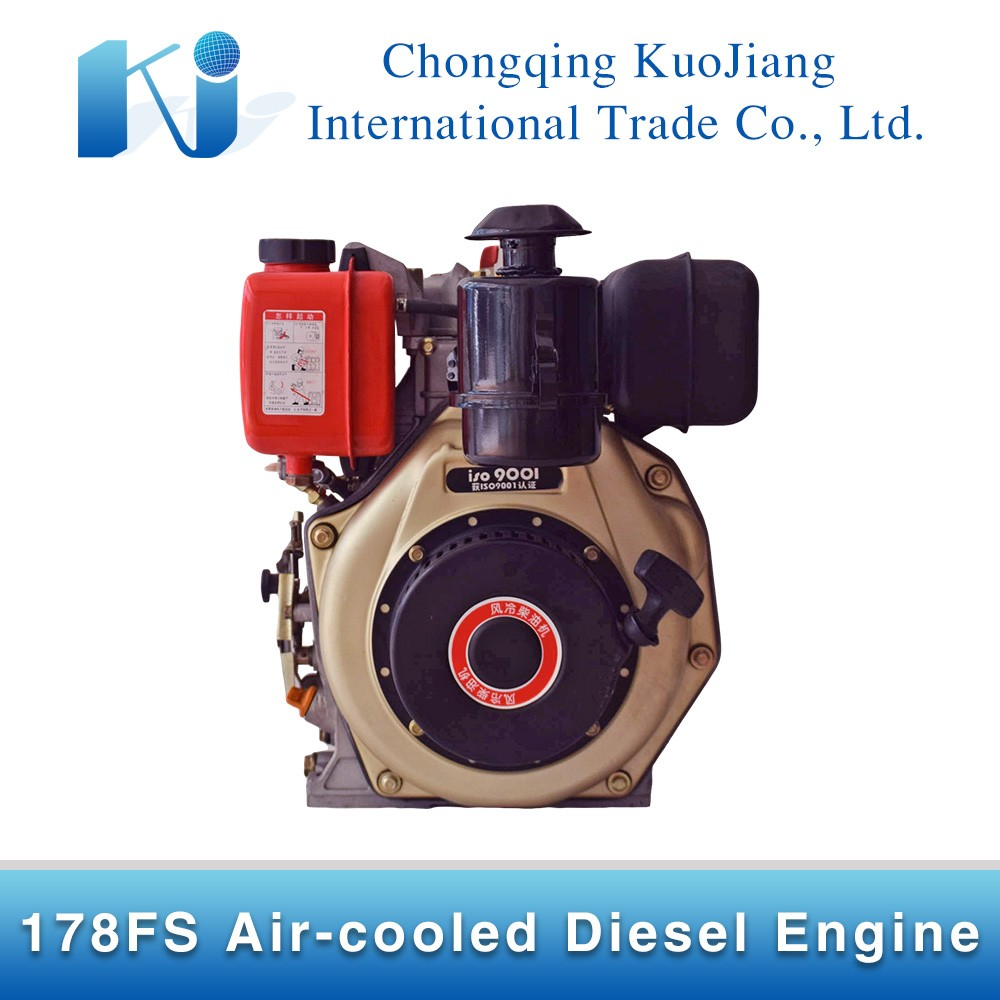 178FS Air Cooled Diesel Engine for Water Pump