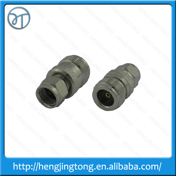 N female jack to F male plug RF coaxial adapter connector