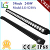 Car LED Tuning Light Manufacturer Low Voltage Outdoor LED Car Light , 240W LED Light Bar