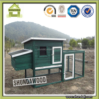 SDC011 Large outdoor wooden pet animal cages for Chickens