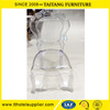 Romantic Wedding Type Luxury Transparent Chair Acrylic