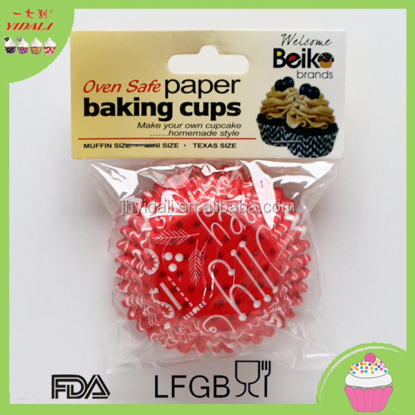 Muffin Cupcake Cups Paper Baking Liner Set Of 50