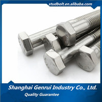 Alloy stainless steel fasteners ASTM A453 660 hex bolt