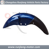 China factory Front fender motorcycle spare parts used for BAJAJ pulsar 135