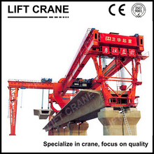 Concrete girder launching gantry
