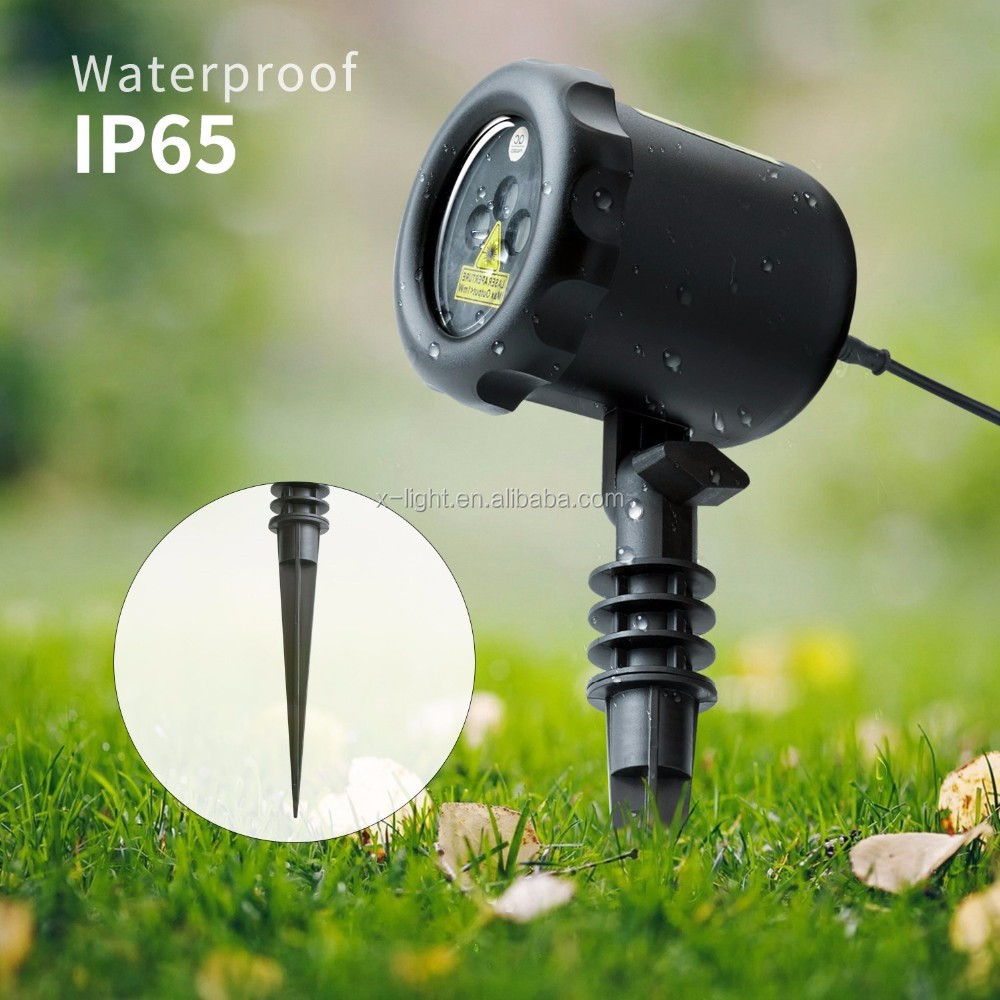 Outdoor Star Projector Shower Laser Christmas Lights
