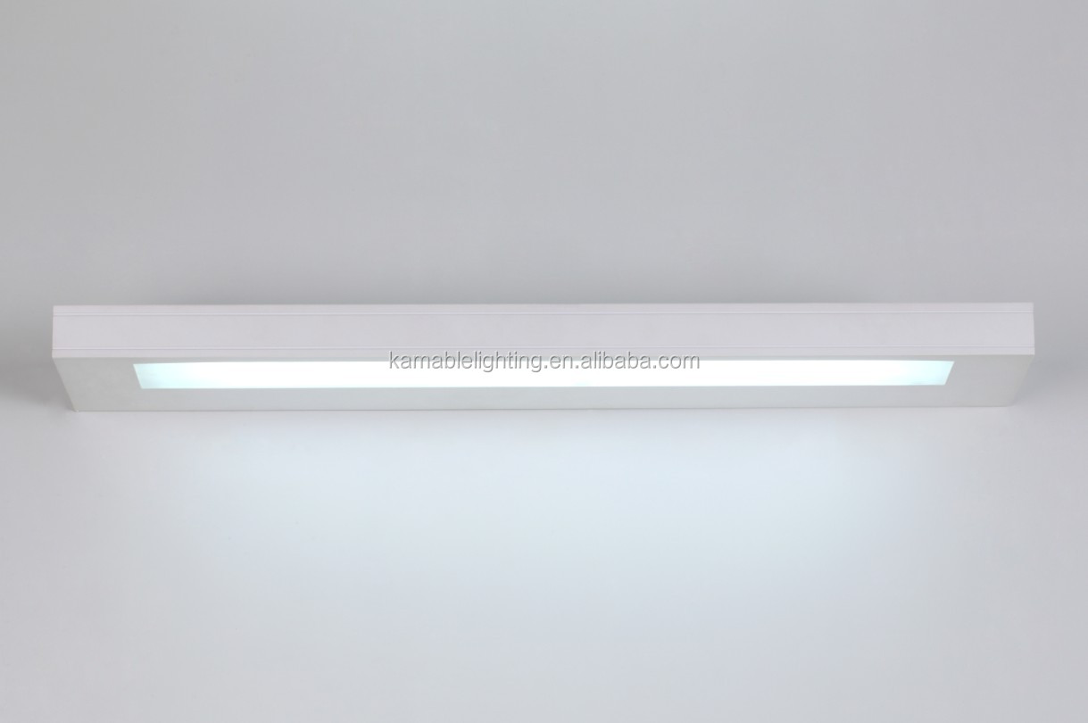 Contemporary T5 LED mirror wall lamp