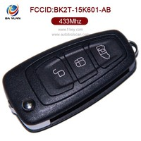 car key replacement for Original Ford Transit 3 button flip remote control key 433MHZ 4D63 blank keys for duplicate AK018057