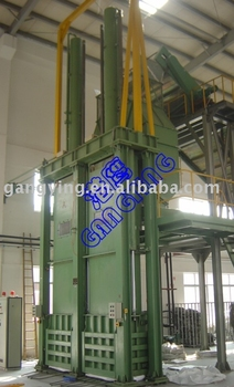 Baler for Staple Fiber production line