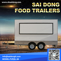 China Supplier Food Catering Trailer With
