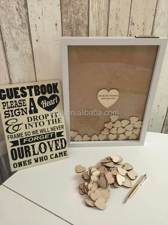 wholesale nice design wedding guest book