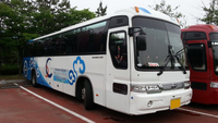 High quality kia brand Used Coach bus for sale > 50 seats