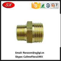 Custom Pipe Fitting Of Brass Material