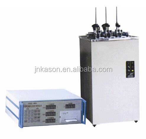 XWB-300B Plastic Vicat Softening Point Device / Plastic Melting Point Tester