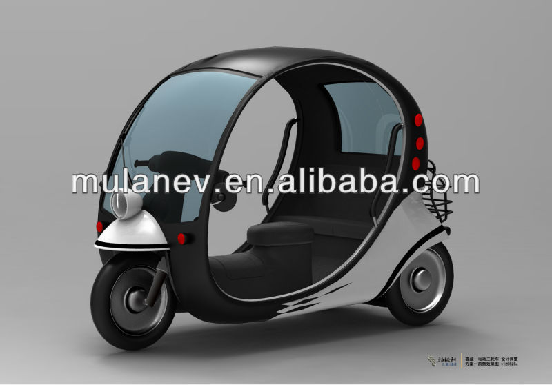 2013 new fashional three wheels mini car electric tricycle