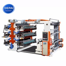 High Speed six colors non woven bag Flexographic Printing Machines