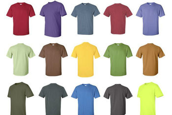 Round Neck T-shirts for Printing Dubai