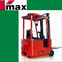 1.0 -1.5 ton three Wheel Electric Forklift Truck with AC motor, 3 wheel battery forklift