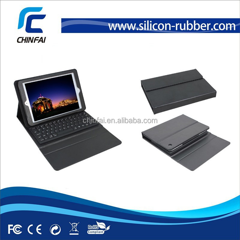 CE,FCC,ROHS 2 in 1 colorful bluetooth keyboard case for for iPad mini/Air 2 for iPhone 6