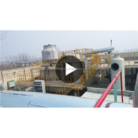 New design 50% high oil yield waste oil pyrolysis equipment waste tire recycling pyrolysis machine