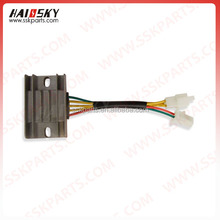 HAISSKY hot sale motor parts motorcycle rectifier for bajaj