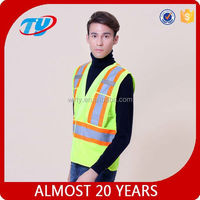 aa95 down vest with fur hood safety vest reflective vest