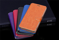 Purse type leather case,hot sale mobile phone case for Sony M4 aqua ,wallet case For Sony M4 aqua