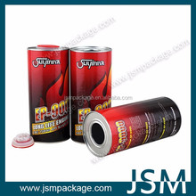 2016 newest design 1LComposite Paper Cans for Engine Oil
