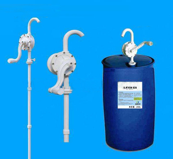 Plastic Rotary Hand drum Pump for Suction Oil Fuel Diesel Barrel