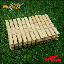 48pcs wood peg clothes pins