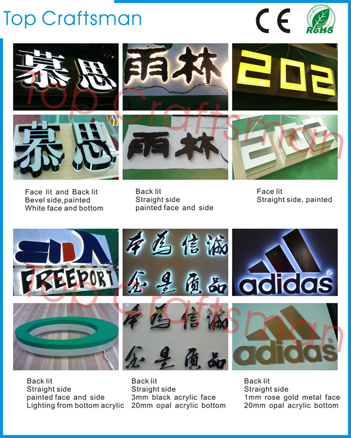 Wholesale Samsung logo exposy resin letter